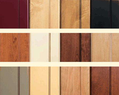 Cabinet Door Finish & Thermofoil Samples