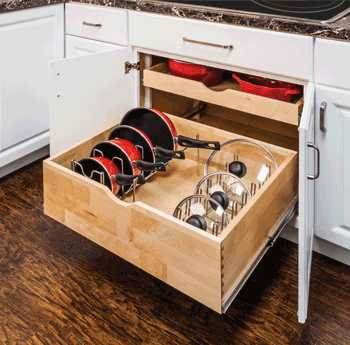 pan drawer inserts - chest of drawers
