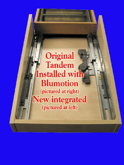 Blum Concealed Undermount Drawer Slides