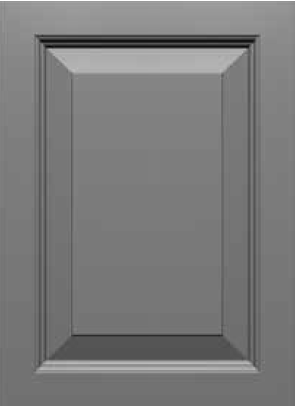 Square Corner 10SQ1 Style MDF Door