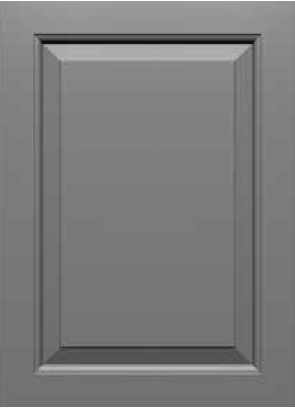 Square Corner 10SQ2 Style MDF Door