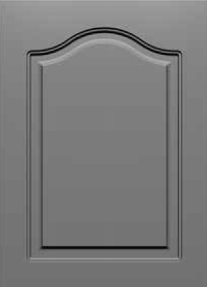 Round Corner 20RC Cathedral Arch Style MDF Door