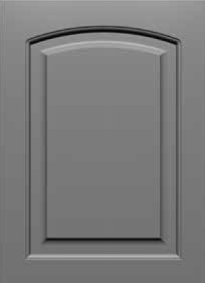 Square Corner 30SQ3 Eyebrow Arch Style MDF Door