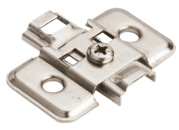 "0mm mounting plate for use with ""Pie Corner Hinge"""