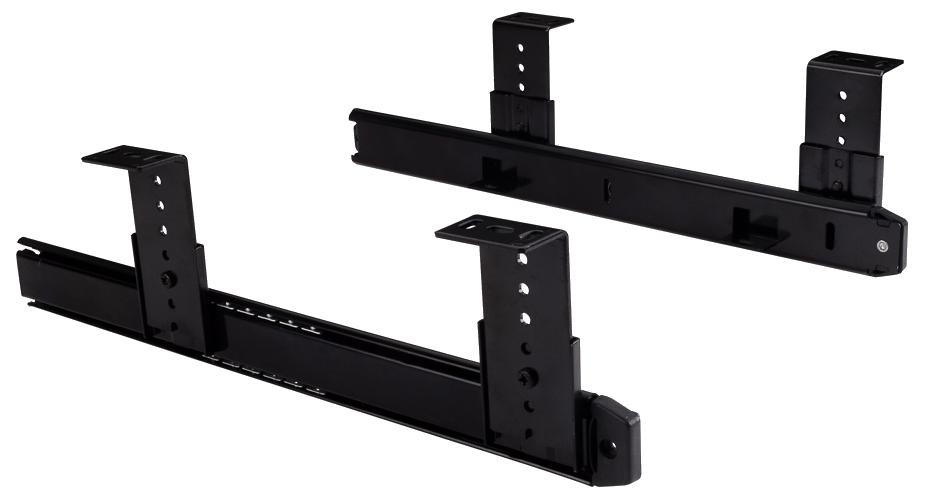 Keyboard Slide Black Black Under Counter Drawer Slide