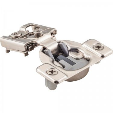 "Hardware Resources 7/16"" overlay compact hinge with integrated soft-close"
