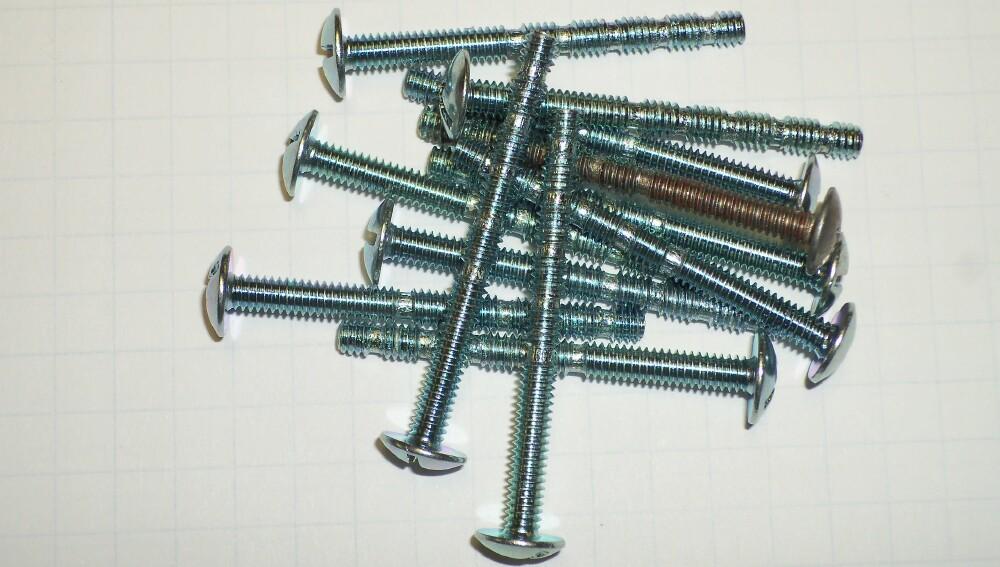 8 x 32 Breakable Machine Screw 8x32 Breakoff Screw [832.175.break ...