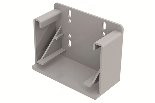 "Rear mounting bracket for Blum 563H - 9"" and 12"""