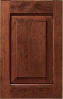 Stained Custom Cabinet Doors