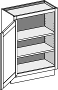 Typical Base Wall Depth Cabinet