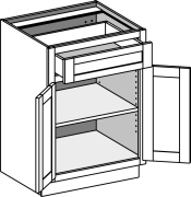 Typical Vanity Base Cabinet