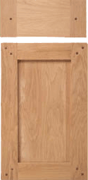 Cottage Arts and Crafts Style Cabinet Door