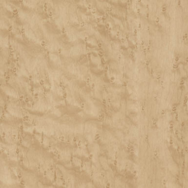 Gloss Natural Birdseye Maple RTF Thermofoil