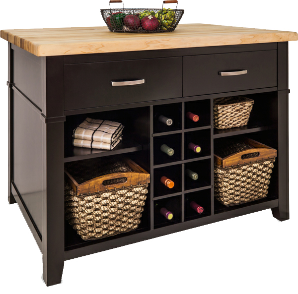 Conversation kitchen island with seating by jeffrey for Kitchen island with drawers and seating