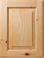 Knotty Pine in Natural