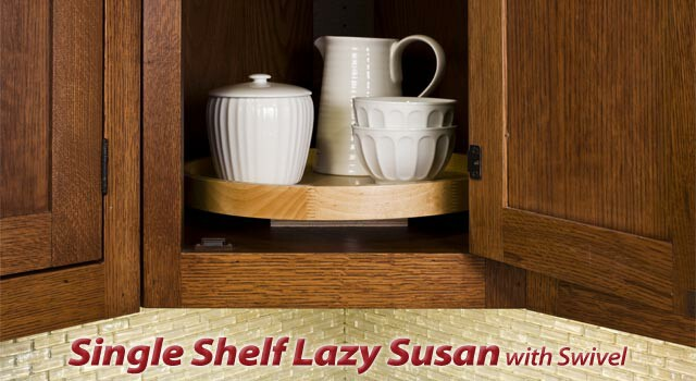 Single Shelf Round Lazy Susan