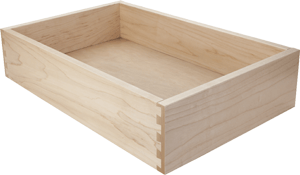 Solid Maple wood drawer box for Kraftmaid