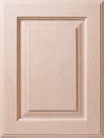 Maple Raised Panel in Ash White
