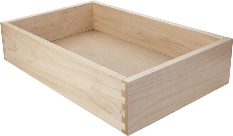 Custom Hard Maple Drawers Custom Hard Maple Drawer Boxes