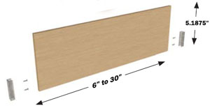 QuikTRAY standard dividers part