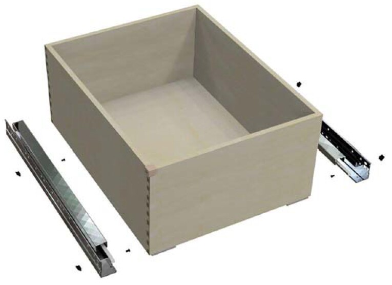 Add-on shelf for QuikTRAY Factory Sized Storage Solutions