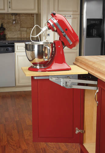 Heavy-duty appliance or mixer lift