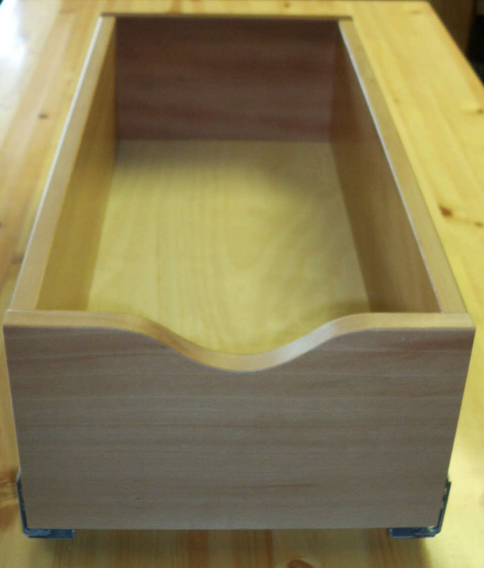 22 Birch Pull Out Shelf Kit One Shelf 1 4 Bottom: Deep Pullout Shelving For 12 Cabinet Opening High Back