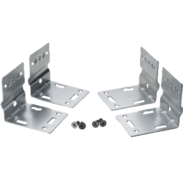 Slide kit for surface mounting drawer slides
