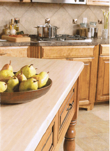 Solid Wood Countertop