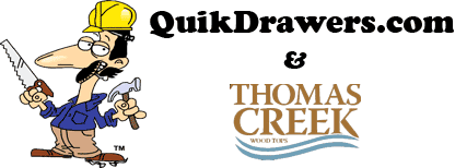 Thomas Creek and QuikDrawers.com Countertop FAQ