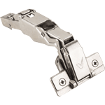 165º heavy duty hinge for pie corner door applications