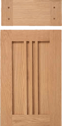 Berkley Arts and Crafts Style Cabinet Door