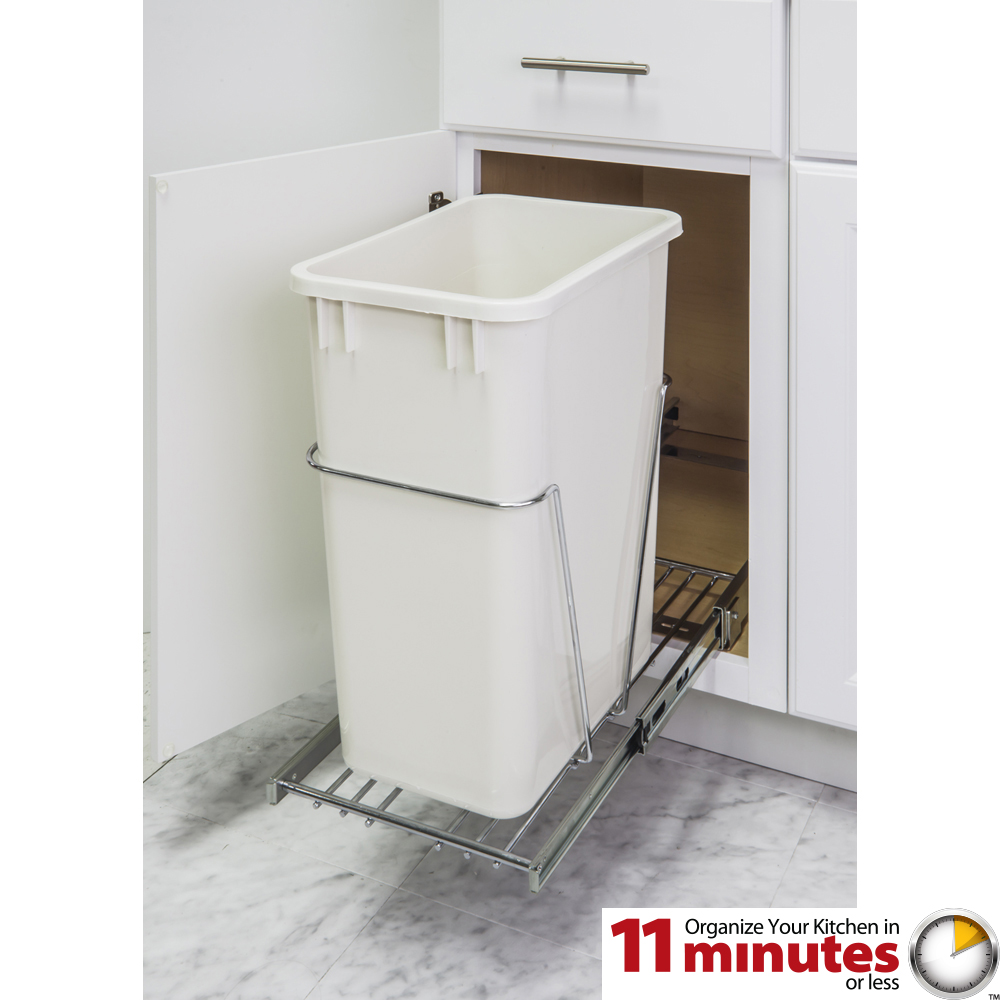 pullout trash can