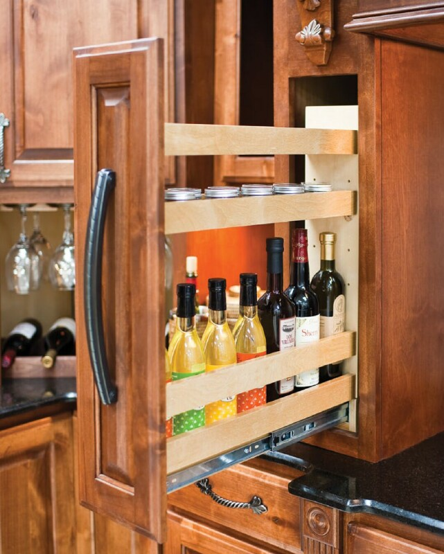 Base and Wall Cabinet Filler Pullouts Base cabinet and wall ...