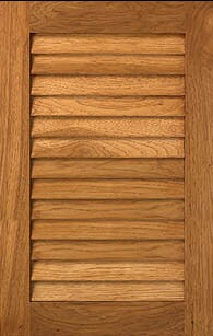 Custom Unfinished Louver Cabinet Doors Unfinished Louver