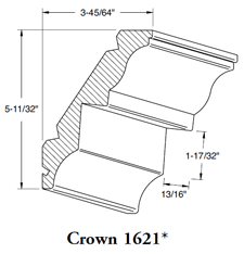 Crown Mould 1621