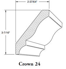 Crown Mould 24