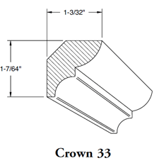Crown Mould 33