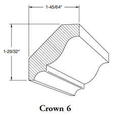 Crown Mould 6