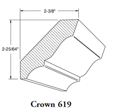 Crown Mould 619