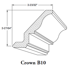 Crown Mould B10 w/Heel