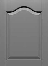 CRP20 Cathedral Arch Raised Panel Door