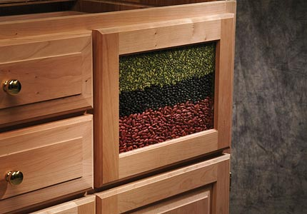 Kitchen Drawer Fronts Bread Box Or Visible Front Drawer Box Custom Dovetail Bread Drawer