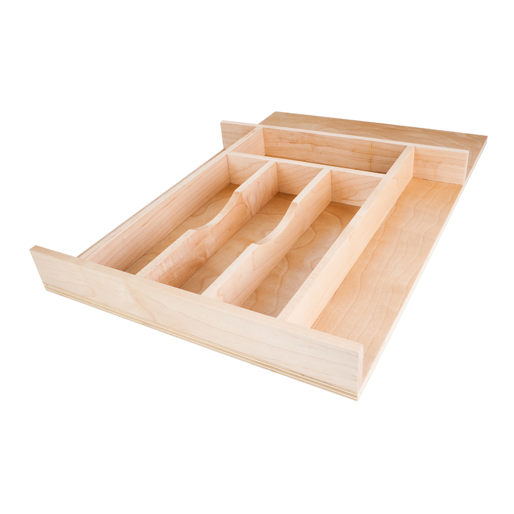 Maple - All Wood Drawer Insert