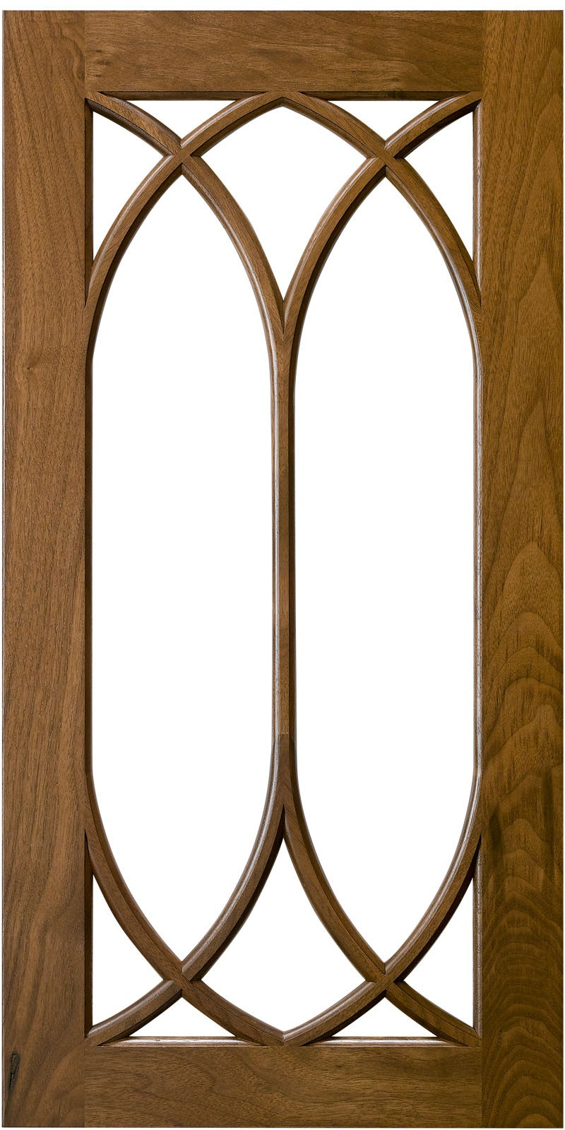 Conestoga Double Arched Lite Mullion Door