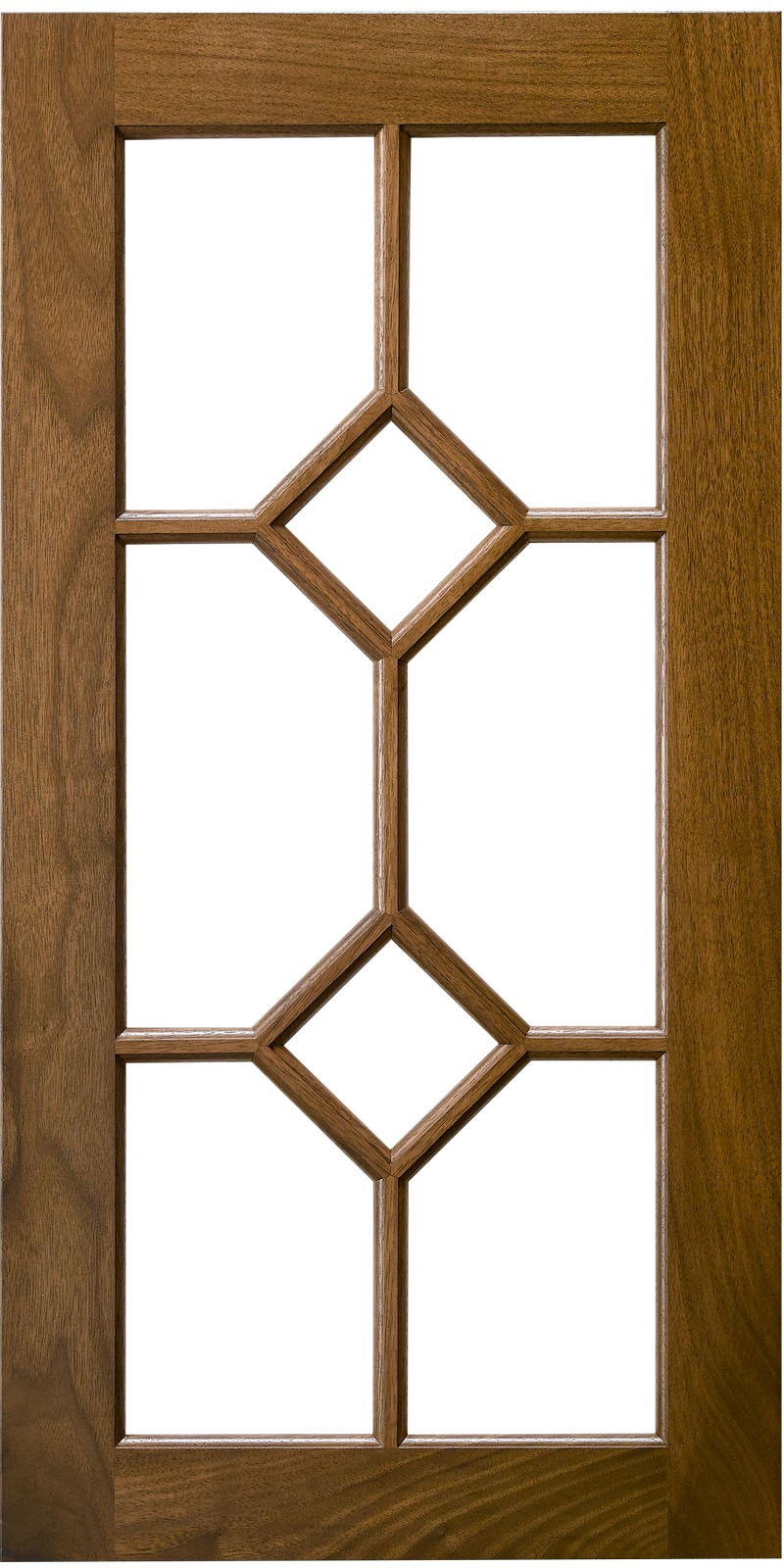 Double Diamond Mullion Cabinet Door