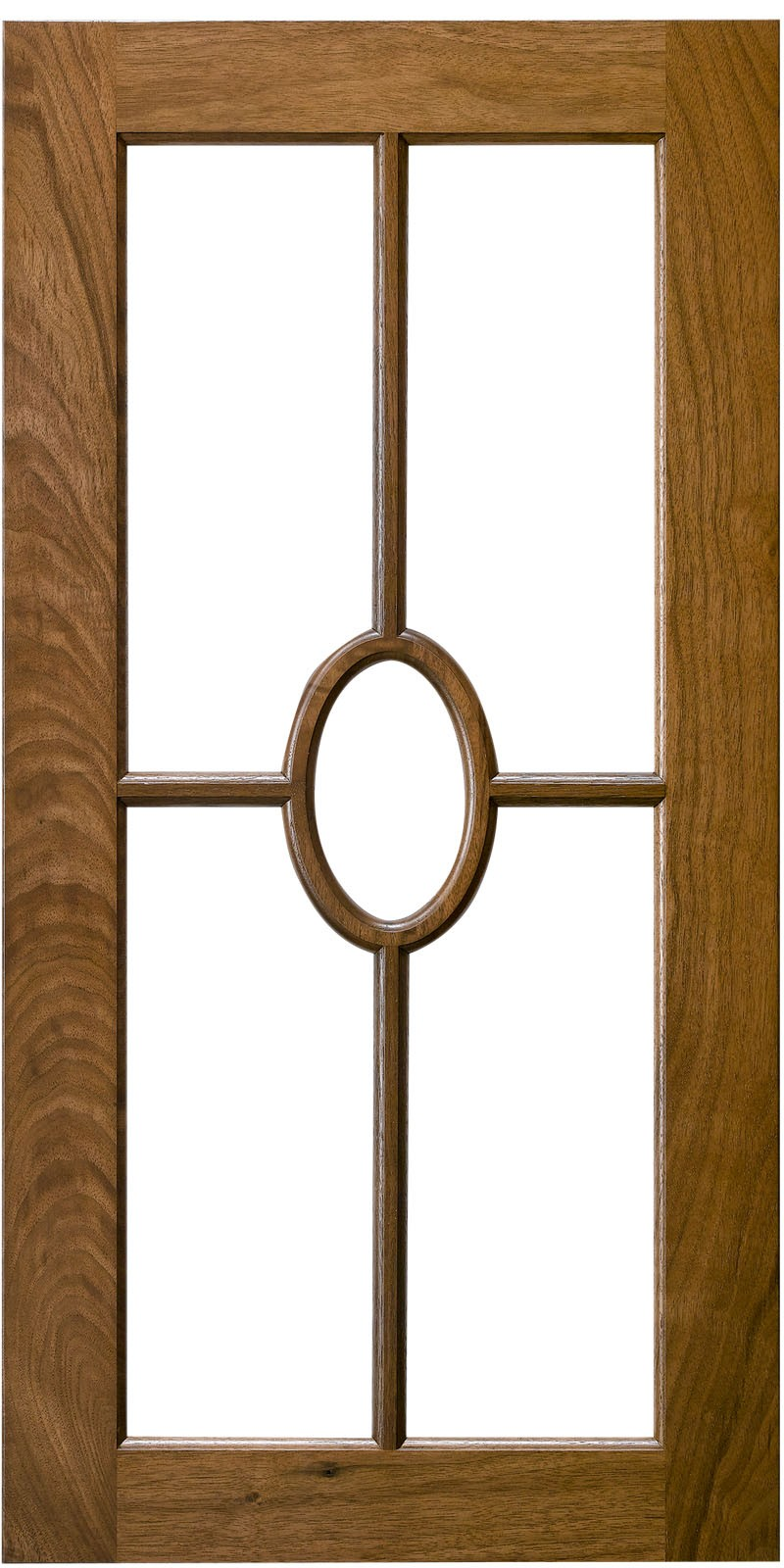 Elliptical Mullion Door