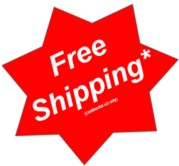 Ships Free in Continental US