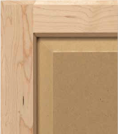 FSC Certified Hybrid Hard Maple and MDF Cabinet Door