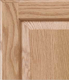 FSC Certified Red Oak Cabinet Door